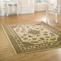 Beige Cream Traditional Persian Style Rugs 160x230cm