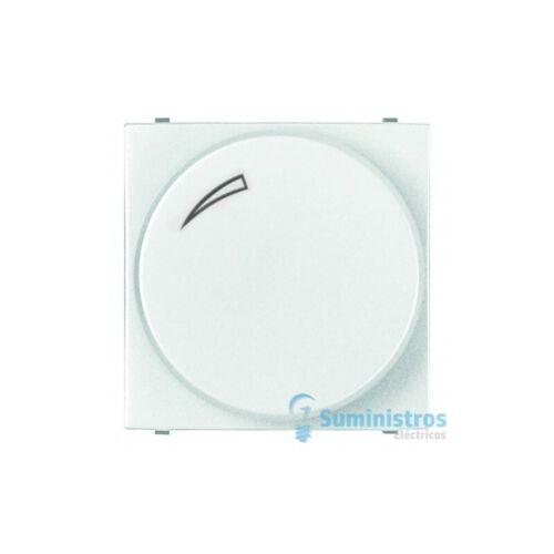 Regulador giratorio/pulsacion para LED Niessen N2260.3 BL serie Zenit color Blan