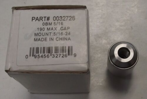 JACOBS 32726 OBM 5//16 Stainless Steel Chuck 0.190 In 5//16-24 Mount