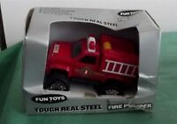 Vintage Remco Fun Toys 1987 Red Fire Truck Pumper