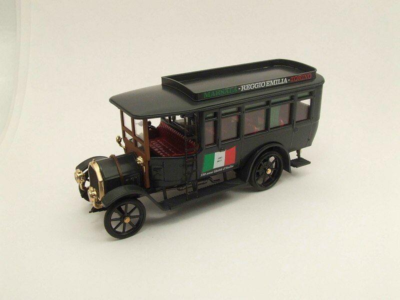 Fiat 18 BL Autobus - - - 150 ans unité italienne - Edition limitée 298 pcs 1 43 Rio 78a4bf