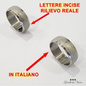 ANELLO-ITALIANO-AVE-MARIA-ACCIAIO-TONDO-PADRE-NOSTRO-BOMBATURA-PREGHIERA-tl