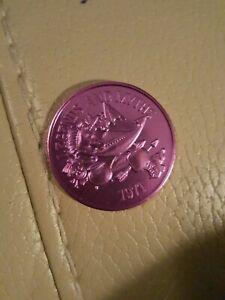 hoodoo voodoo doll pin 1973 mardi gras doubloon coin orleans nola vintage