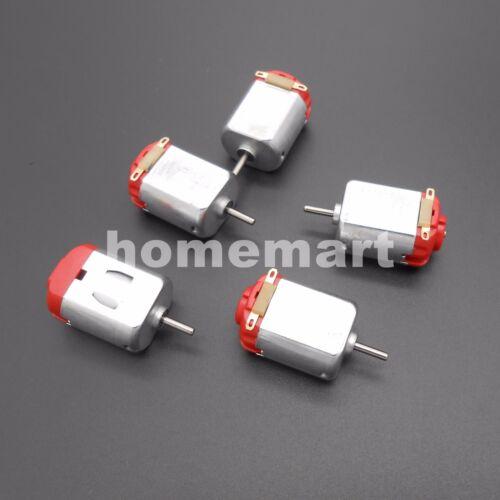 5PCS R130 motor Type 130 Hobby micro motors 8000 RPM 3-6V DC 0.35-0.4A MOTOR DIY