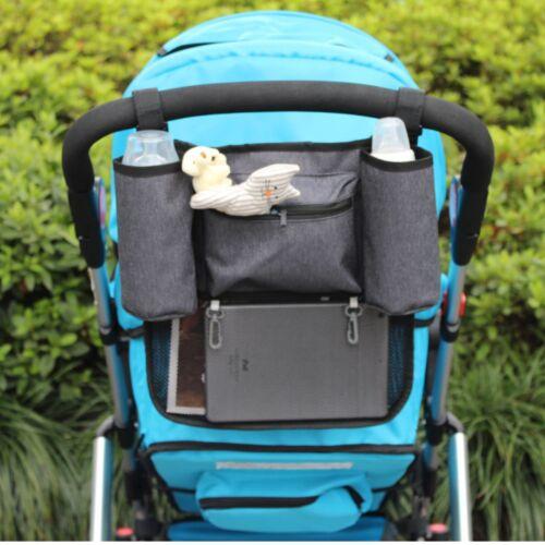 Buggy Organizer Kinderwagen Tasche Getränkeflasche Netz Flaschenhalter Baby Kind