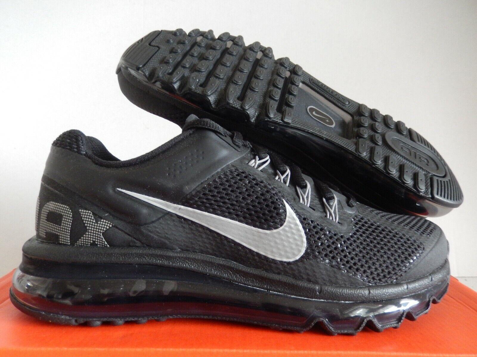 Nike Air Max 2013 Black And Grey