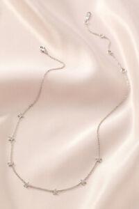 Stella-amp-Dot-Stars-Align-Necklace-Silver-Brand-New-In-Original-Box-RV-49