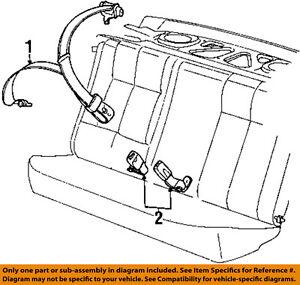 saturn gm oem 97 98 sc2 rear seat belt center middle 21055591 ebay 3 Dr Saturn SC1 Coupe image is loading saturn gm oem 97 98 sc2 rear seat