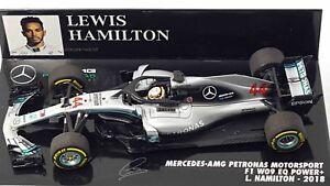 Minichamps Mercedes W09 Lewis Hamilton 2018 champion du monde 1:43 410180044 !!