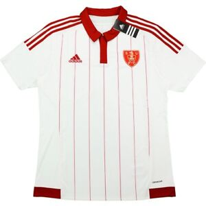 SHEFFIELD UNITED (L) 2015/16 WHITE/RED HOME ADIDAS SOCCER ...