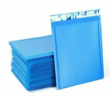 4 X 8000 Blue Poly Bubble Mailers Self Seal Padded Envelope Mailing Shipping