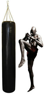 6FT Traditional Hand Stitched Heavy Bag 4FT Punching Bag in Mauy Thai Style
