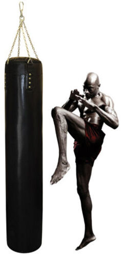 """Punching Bag in Mauy Thai Style 6FT UNFILLED 72/"""" Hand Stitched Heavy Bag"""