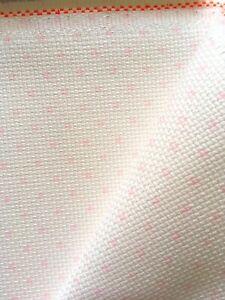 Cross Stitch Aida Cloth 14count ZWEIGART ECRU CREAM Size 48x53cm Fabric