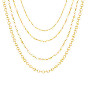 2d2cb1df65b 14k Rose Gold Filled Chains Necklace Jewelry Wholesale Round Cable ...