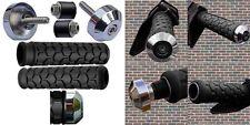 SEADOO BOMBARDIER WATERCRAFT 3D GSX GTI GTX SP XP BLACK GRIPS CHROME BAR ENDS