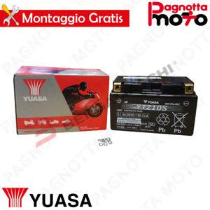 BATTERIA-YUASA-YTZ10S-PRECARICATA-SIGILLATA-MV-AGUSTA-BRUTALE-RR-1090-2010-gt-2011