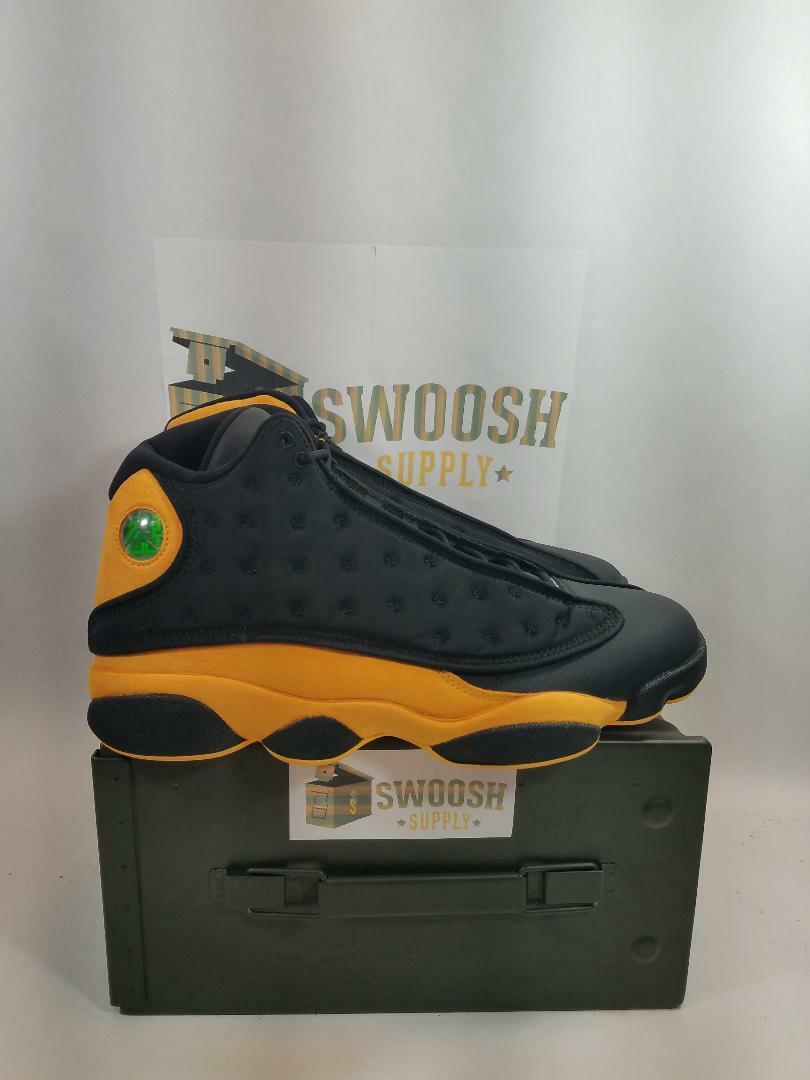 NIKE AIR JORDAN 13 XIII MELO CLASS OF 2002 BLACK YELLOW RED OG 414571 035
