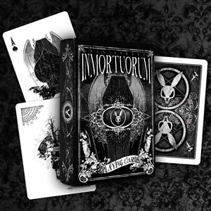 INMORTUORUM BICYCLE DECK OF PLAYING CARDS BY DAN SPERRY & USPCC MAGIC TRICKS