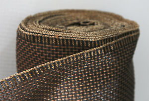 Antique-Radio-Vintage-GRILLE-CLOTH-Fabric-SPEAKER-Repair-Restoration-Grill-NOS