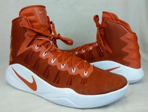 New Men's Nike Hyperdunk 2016 TB Basketball shoes 856483-882 Long Horns Size 13