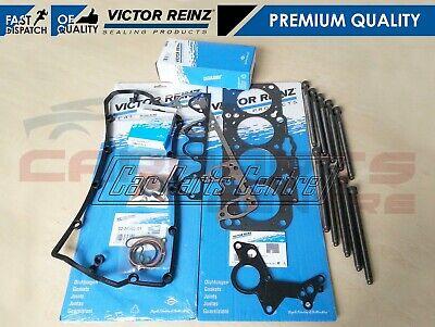 FOR VW 1.9 TDI 84 BHP ENGINE BRR VICTOR REINZ CYLINDER HEAD GASKET SET BOLT KIT