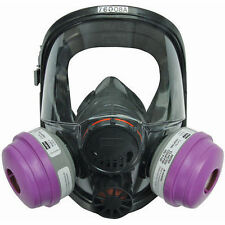 North 76008A Honeywell Full Face Respirator Medium/Large w/cartridges New
