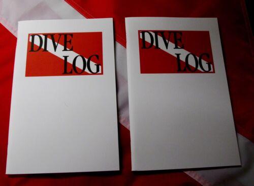 "Travel size logbook SCUBA dive equip paper 8.5x5.5/"" christmas stocking stuffer 2"