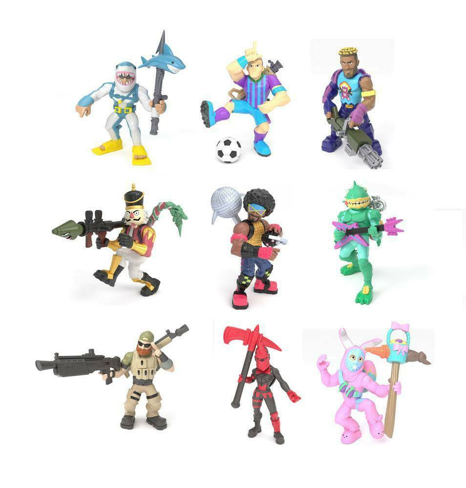 Fortnite Battle Royale Collection Mini Figuras 5 cm Wave 2 Assortment (12) Moose