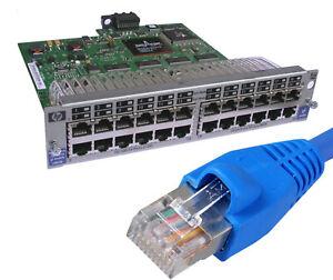 24x10/100 Ports J4862b Module D'extension Pour Hp Procurve 4104gl 4108gl