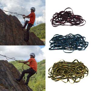 Mountaineering Climbing Rescue Caving 4-Step Etrier Webbing Rope Ladder Gear