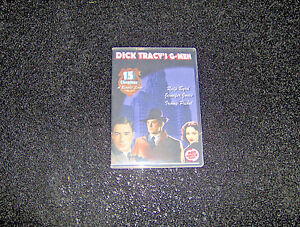 DICK TRACY'S G-MEN SERIAL CLIFFHANGER 15 CHAPTERS 2 DVD
