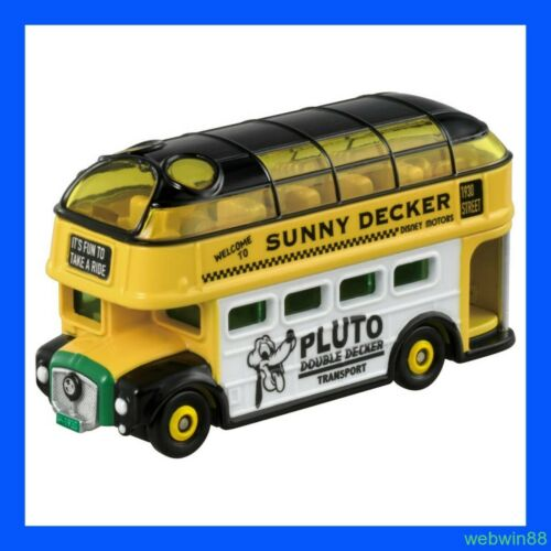 SEP 2020 DISNEY MOTORS DM-19 Pluto Sunny Decker Bus TOMICA TOMY TAKARA