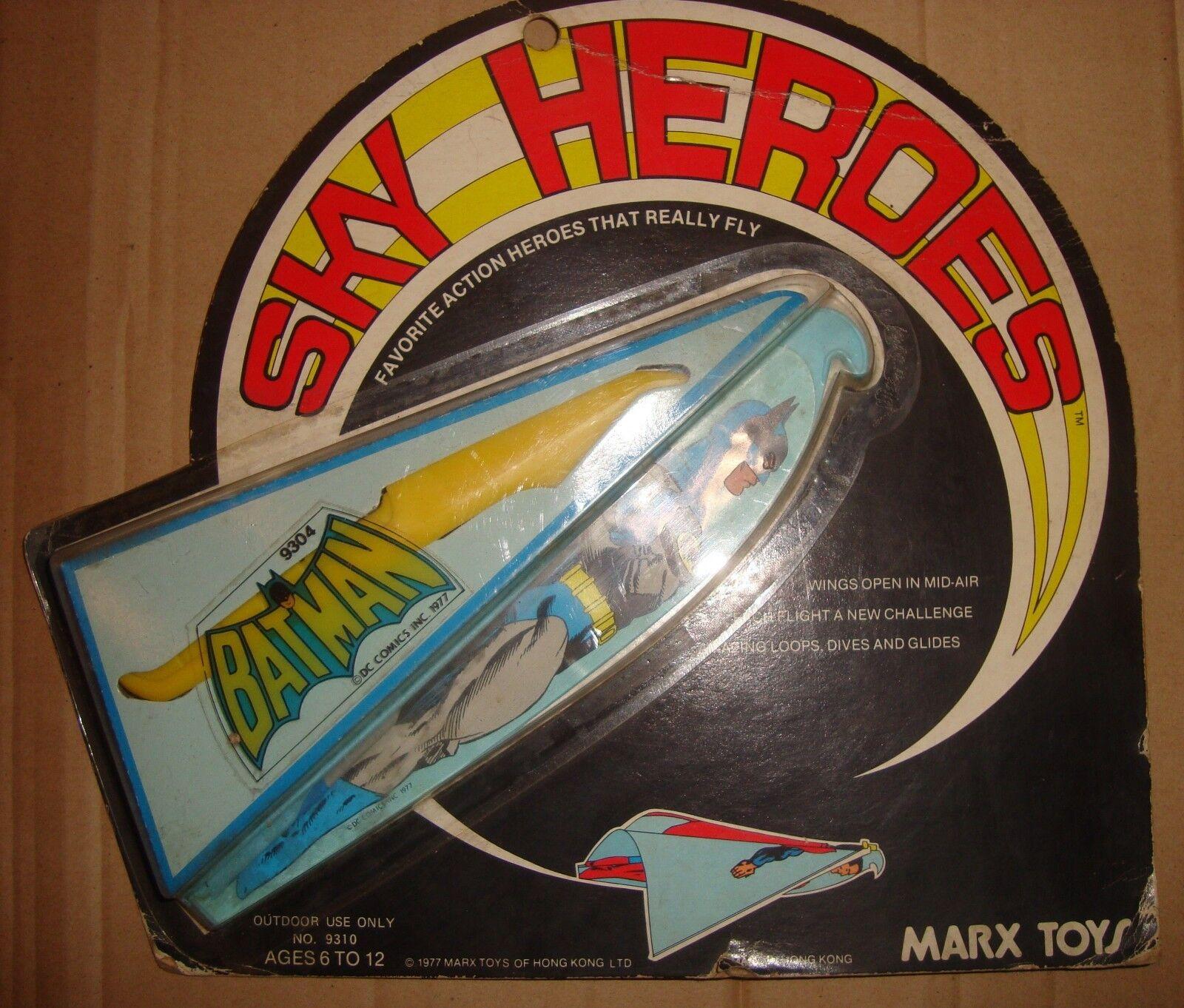 SKY HEROES BATMAN MARX TOYS 1977 (DC COMICS)