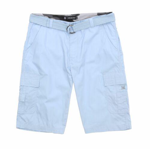 Akademiks Men/'s Ripstop Beekman Belted Cargo Shorts