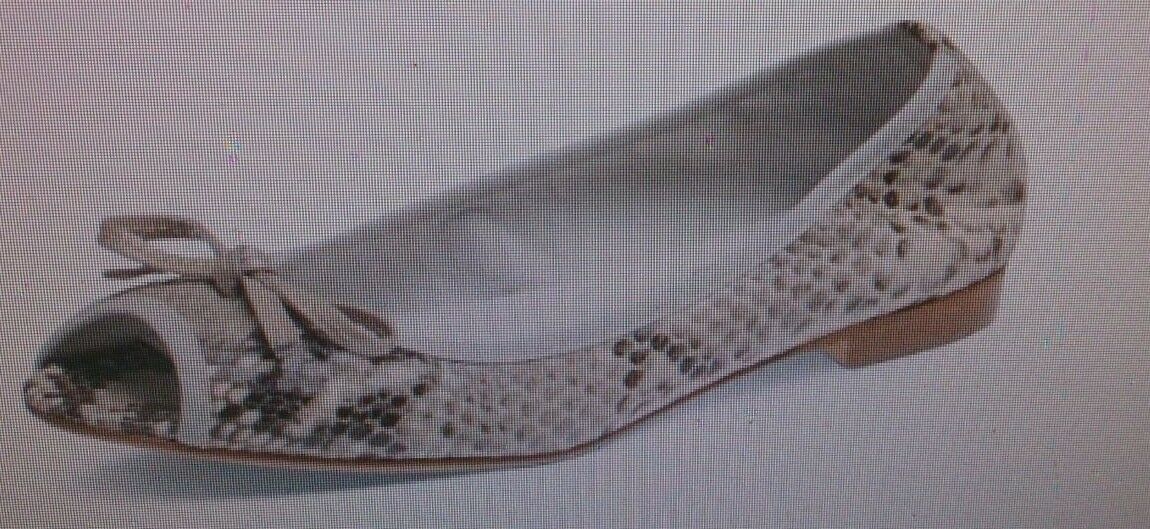Evita Shoes Damen Peeptoe, beige, Gr.41