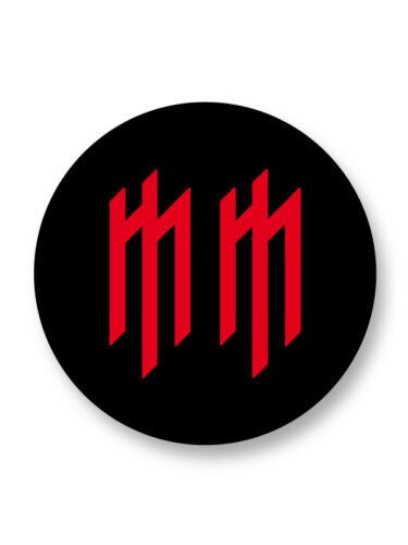 Porte clé Keychain Ø45mm Marilyn Manson Metal Industriel USA