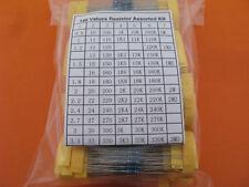 1% 1/4W Metal Film  Resistor Assorted Kit 148 Value total  3700pcs 25pcs each