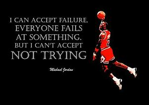 INSPIRATIONAL MICHAEL JORDAN BASKETBALL QUOTE POSTER ...