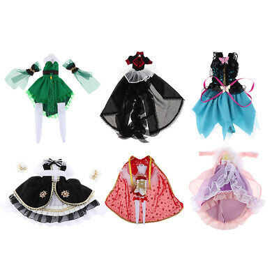 12inch Fashion Doll Outfits Casual Clothes Sweater /& Skirt for