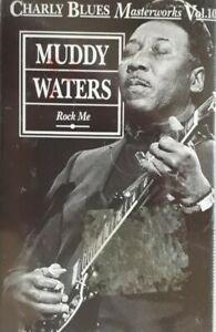 Muddy Waters-Charly Blues Masterworks Volume 10 Cassette.1992 TCBM 10.Rock Me+