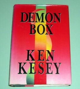 KEN KESEY DEMON BOX 1st ED PSYCHEDELIC LSD ESSAYS OREGON HIPPIE Merry Pranksters