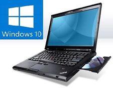 WIN10 Lenovo ThinkPad T400 Laptop / Notebook WINDOWS 10 PROFESSIONAL + WEBCAM