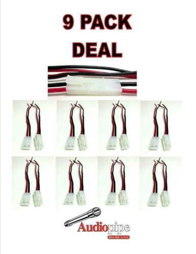 9 Pieces 14 Gauge Wire 2 Pin Male Female Quick Disconnect Polarized Wire