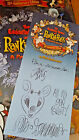 Hand-signed Rankin/Bass book plate by Jack Davis, Paul Coker, Jr. and Author!