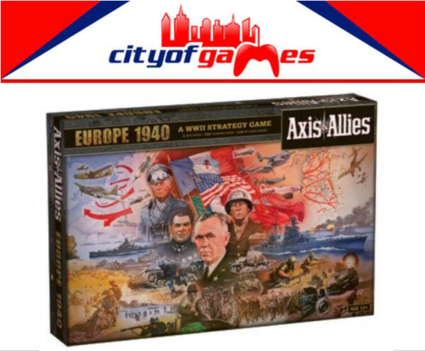 Axis & Allies Europe 1940 Revised Board Game Brand New