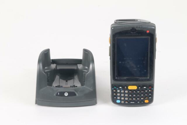 Motorola Symbol MC75 Wireless 2D Handheld Barcode Scanner W/ Base CRD7X00-1