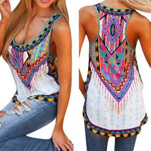 Women-Bohemia-O-Neck-Sleeveless-Tank-Tops-Ladies-Summer-Cotton-Blouse-T-Shirt