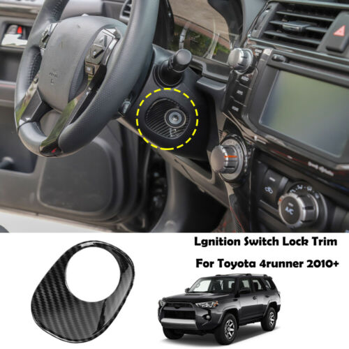 Car Ignition Switch Lock Cover Trim Decor Ring For Toyota 4runner 2010-2019 SUV