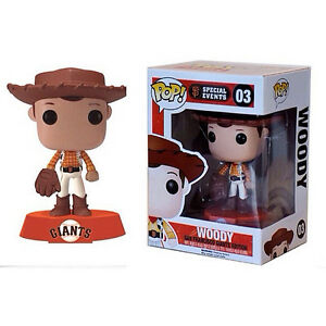 Disney Toy Story San Francisco Giants Edition Woody 3 75 Vinyl